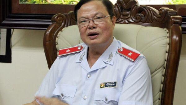 Cục trưởng Cục Chống tham nhũng Phạm Trọng Đạt. - Sputnik Việt Nam
