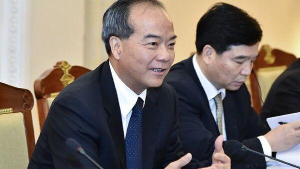 Ông Lâm Thiếu Xuân - Phó Tỉnh trưởng Thường trực tỉnh Quảng Đông (Trung Quốc) - Sputnik Việt Nam