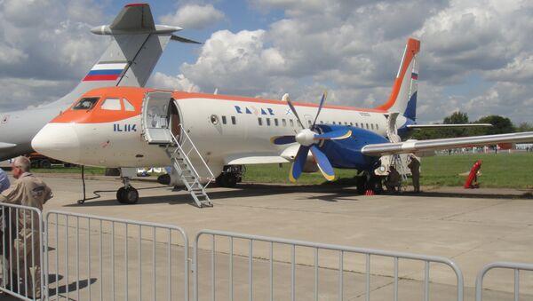 Máy bay phản lực cánh quạt IL-114 - Sputnik Việt Nam