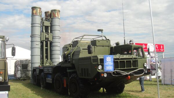 Trạm phóng tên lửa S-400 Triumph - Sputnik Việt Nam