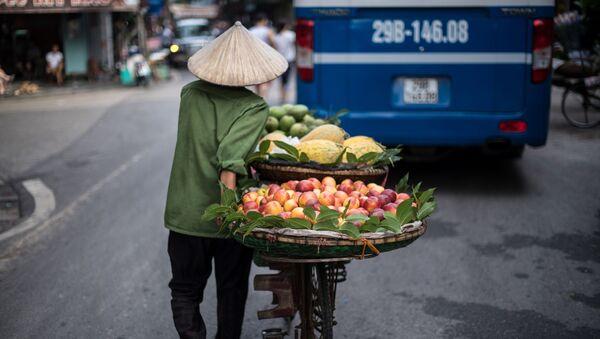 Người bán trái cây, Hà Nội, Việt Nam - Sputnik Việt Nam