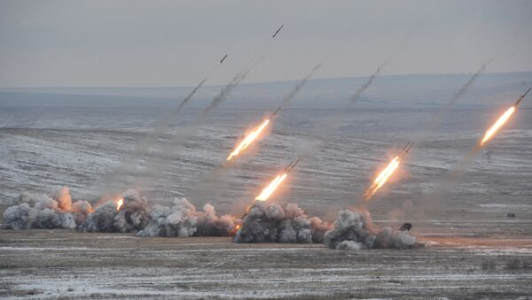 """Hệ thống súng phun lửa hạng nặng Solntsepek"""" - Sputnik Việt Nam"""