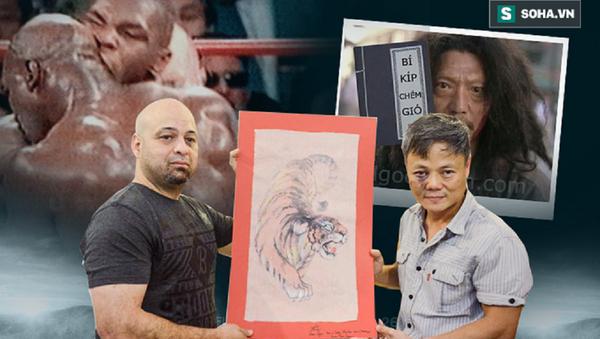 Flores tặng võ sư Châu và võ sư Linh bức tranh con hổ - Sputnik Việt Nam