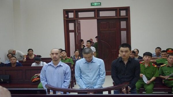 Các bị cáo tại phiên tòa phúc thẩm chiều nay - Sputnik Việt Nam