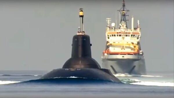 Tàu ngầm hạt nhân của Hải quân Nga đi vào biển Baltic - Sputnik Việt Nam