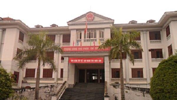 Chủ tịch tỉnh Lào Cai hầu tòa - Sputnik Việt Nam