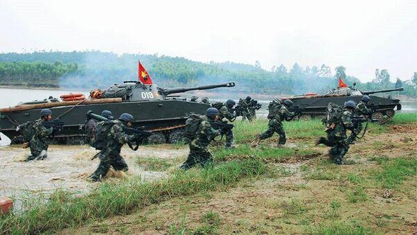 Hải quân đánh bộ VN - Sputnik Việt Nam
