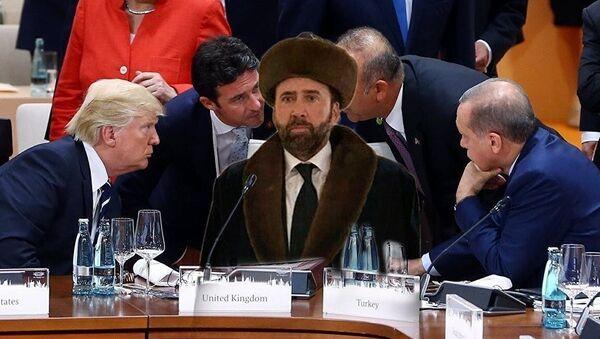 Diễn viên Mỹ Nicolas Cage trong nhà nguyện trở thành nhân vật meme tiếp theo - Sputnik Việt Nam