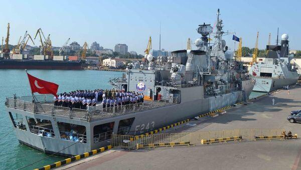 Корабли постоянной военно-морской группы НАТО в порту Одессы - Sputnik Việt Nam