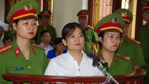 Bị cáo Trần Thị Nga trước tòa - Sputnik Việt Nam