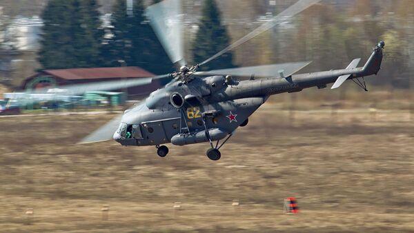 máy bay trực thăng vận tải quân sự Mi-8MTV-5 (Mi-17V-5) - Sputnik Việt Nam