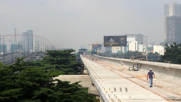 Tuyến metro số 1 tại TP HCM - Sputnik Việt Nam