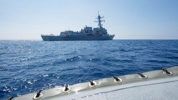 USS Dewey, Biển Đông - Sputnik Việt Nam