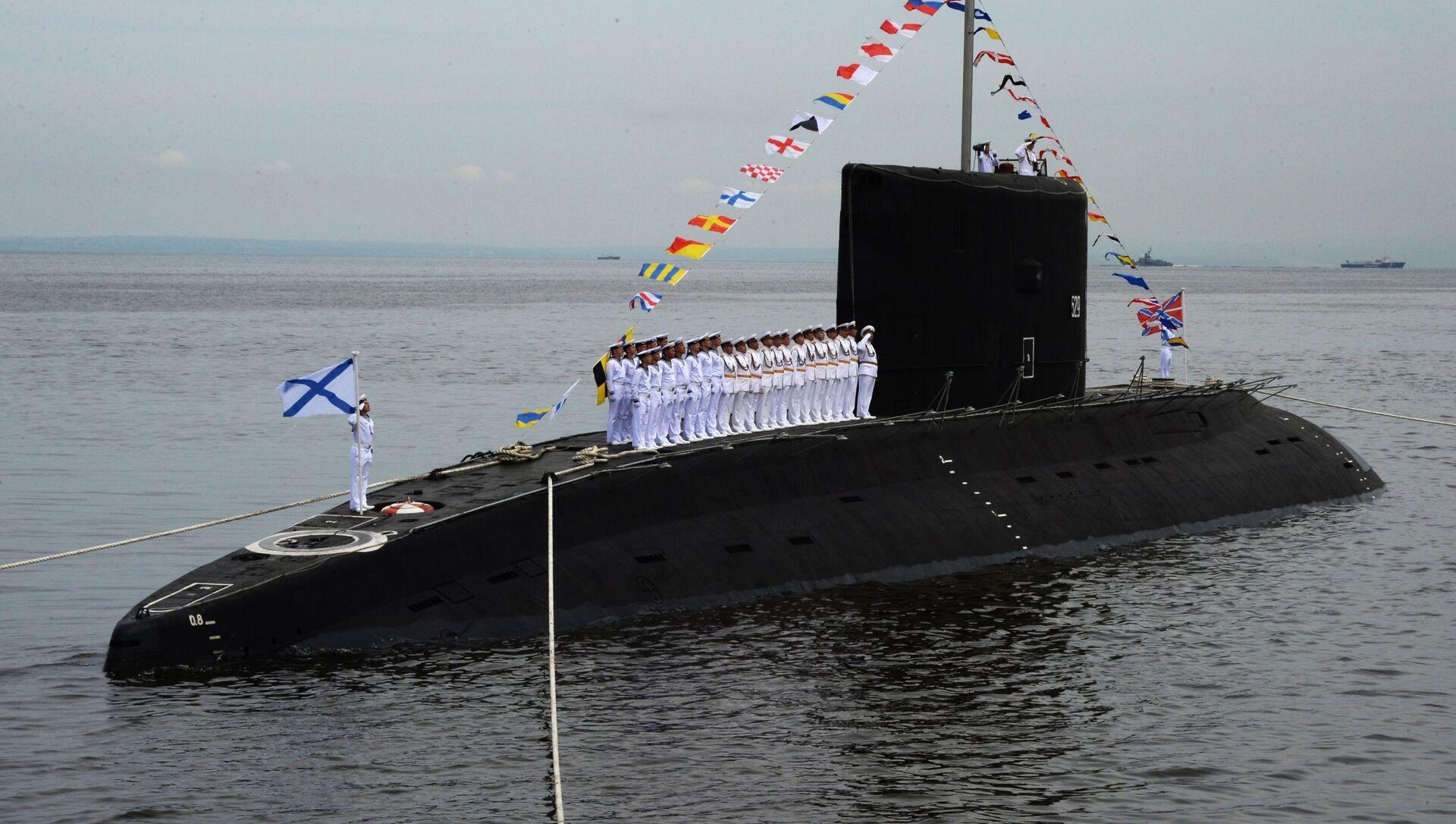 Tàu ngầm Varshavyanka của Nga - Sputnik Việt Nam, 1920, 21.09.2021