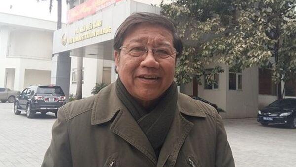 PGS.TS Nguyến Văn Nhã nhấn mạnh, cấu trúc đào tạo đại học phải ưu tiên tuyệt đối cho ngành học - Sputnik Việt Nam