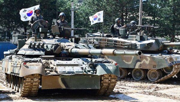T-80U Korea - Sputnik Việt Nam