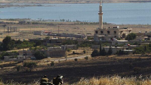 Israel bác bỏ việc trả lại Cao nguyên Golan cho Syria - Sputnik Việt Nam