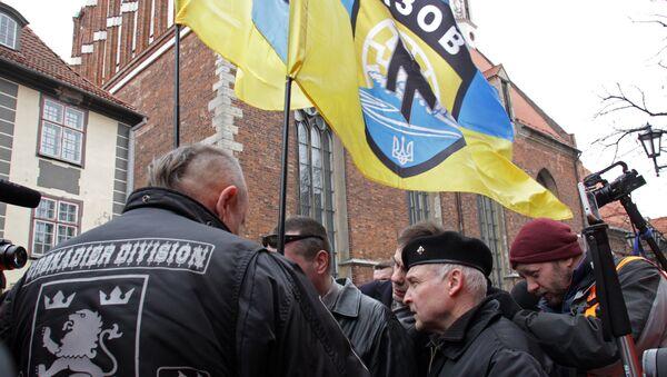 Thường diễn ra chủ nghĩa phát-xít ở Riga - Sputnik Việt Nam