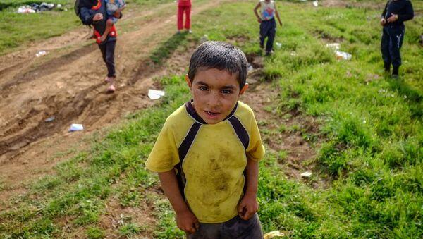 Người tị nạn Syria ở Lebanon. - Sputnik Việt Nam