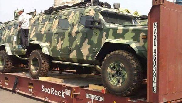Dàn xe IAG 4x4 Guardian Tactical tại cảng Green Port, Hải Phòng - Sputnik Việt Nam