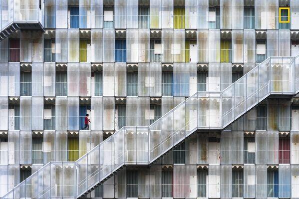 """Tetsuya Hashimoto. Colorful apartment. Giải khuyến khích trong hạng mục """"Thành phố"""" - Sputnik Việt Nam"""