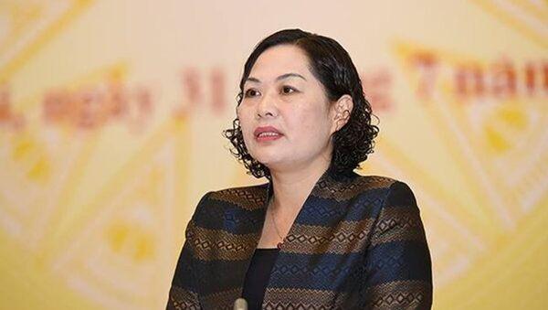 Phó Thống đốc NHNN Nguyễn Thị Hồng - Sputnik Việt Nam