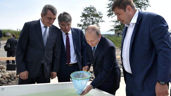 Vladimir Putin ở Buryatia - Sputnik Việt Nam