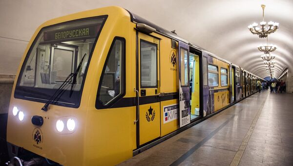 Tàu điện ngầm Matxcơva - Sputnik Việt Nam