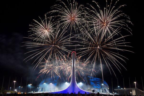 Giai đoạn đấu vòng loại của Giải vô địch thế giới về pháo hoa ở Sochi. - Sputnik Việt Nam