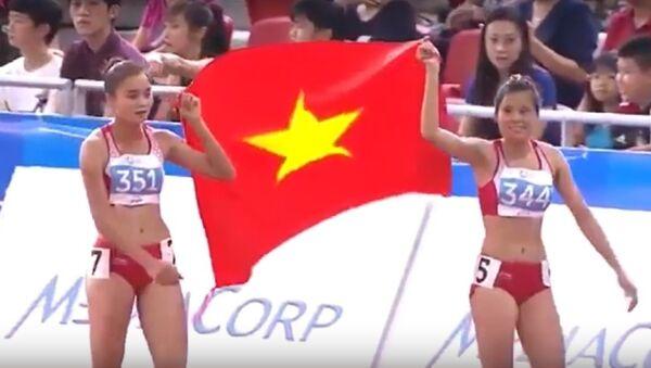 Cổ vũ VN Seagames 29 - Chúng ta là Việt Nam - Cáp Anh Tài - Sputnik Việt Nam