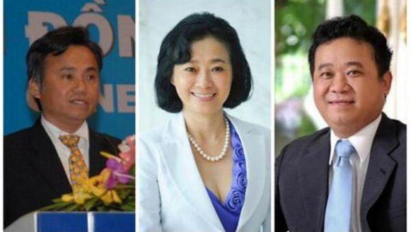 Ông Đặng Thành Tâm nhường ghế Tổng giám đốc ITA cho bà Đặng Hoàng Yến - Sputnik Việt Nam