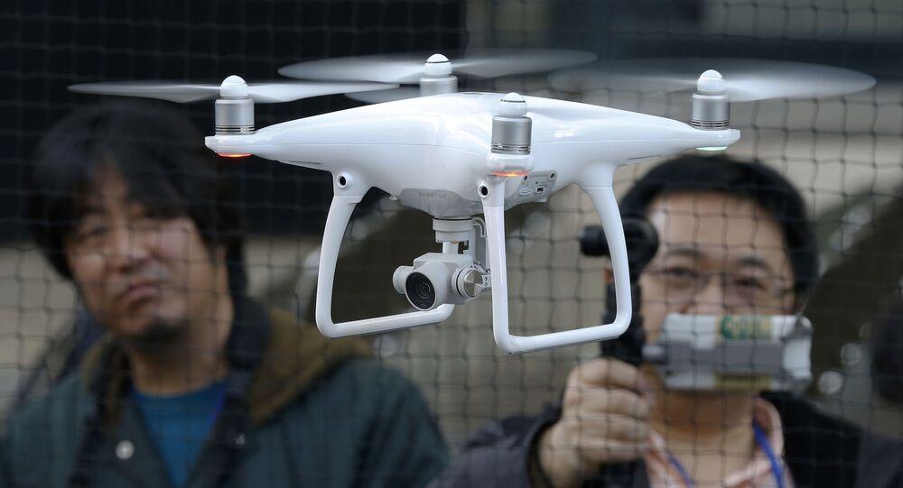 thiết bị của công ty DJI Trung Quốc