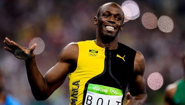 Ngôi sao điền kinh thế giới Usain Bolt - Sputnik Việt Nam
