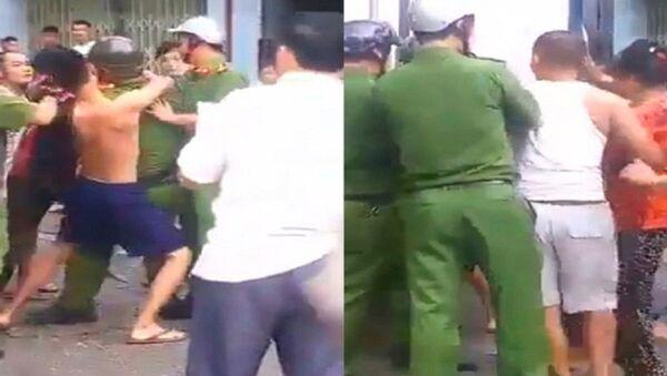 Đánh nhau với cảnh sát - Sputnik Việt Nam
