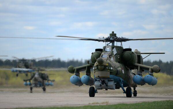 Trực thăng chiến đấu Mi-28N - Sputnik Việt Nam