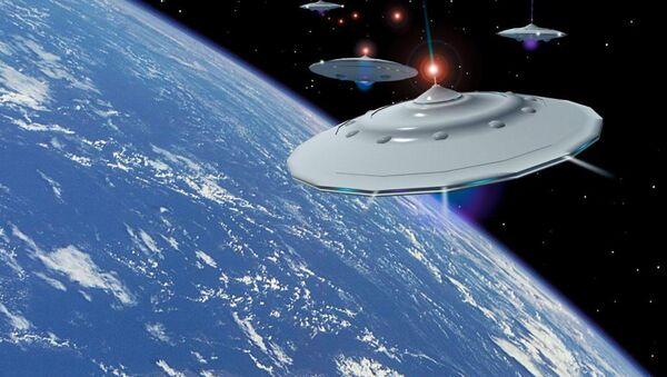 người ngoài hành tinh trên quỹ đạo của Trái Đất - Sputnik Việt Nam