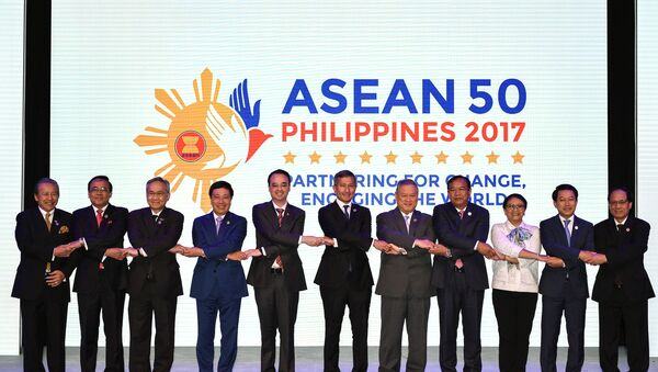 Opening ceremony of the 50th Association of Southeast Asian Nations (ASEAN) Regional Forum - Sputnik Việt Nam