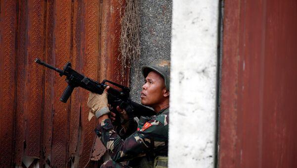 quân nhân Philippines - Sputnik Việt Nam