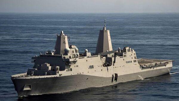 Tàu Hải quân Mỹ USS San Diego (LPD 22) - Sputnik Việt Nam