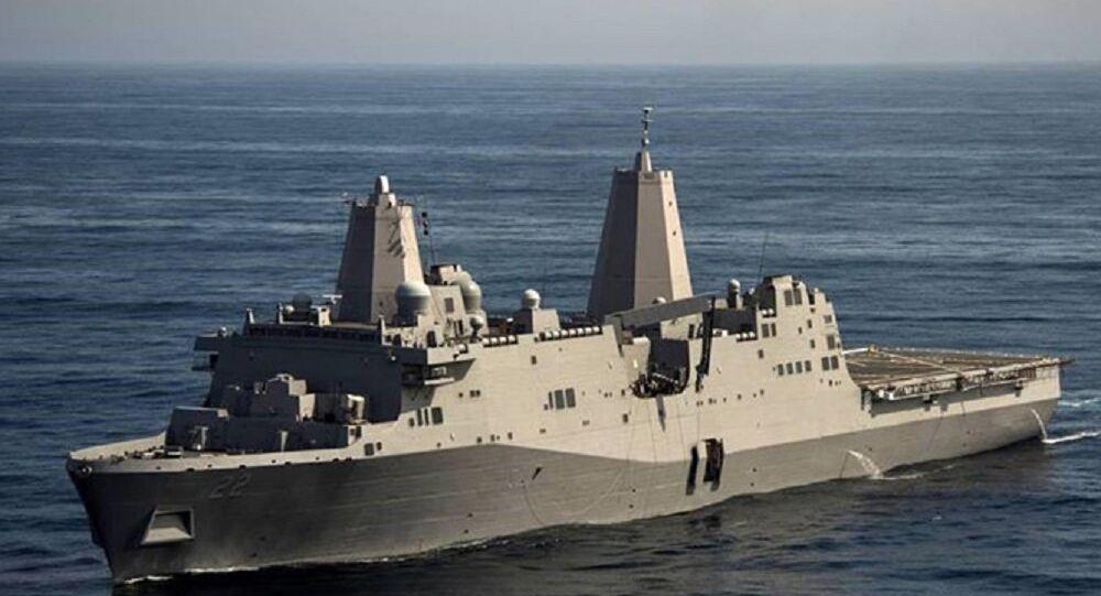 Tàu Hải quân Mỹ USS San Diego (LPD 22)