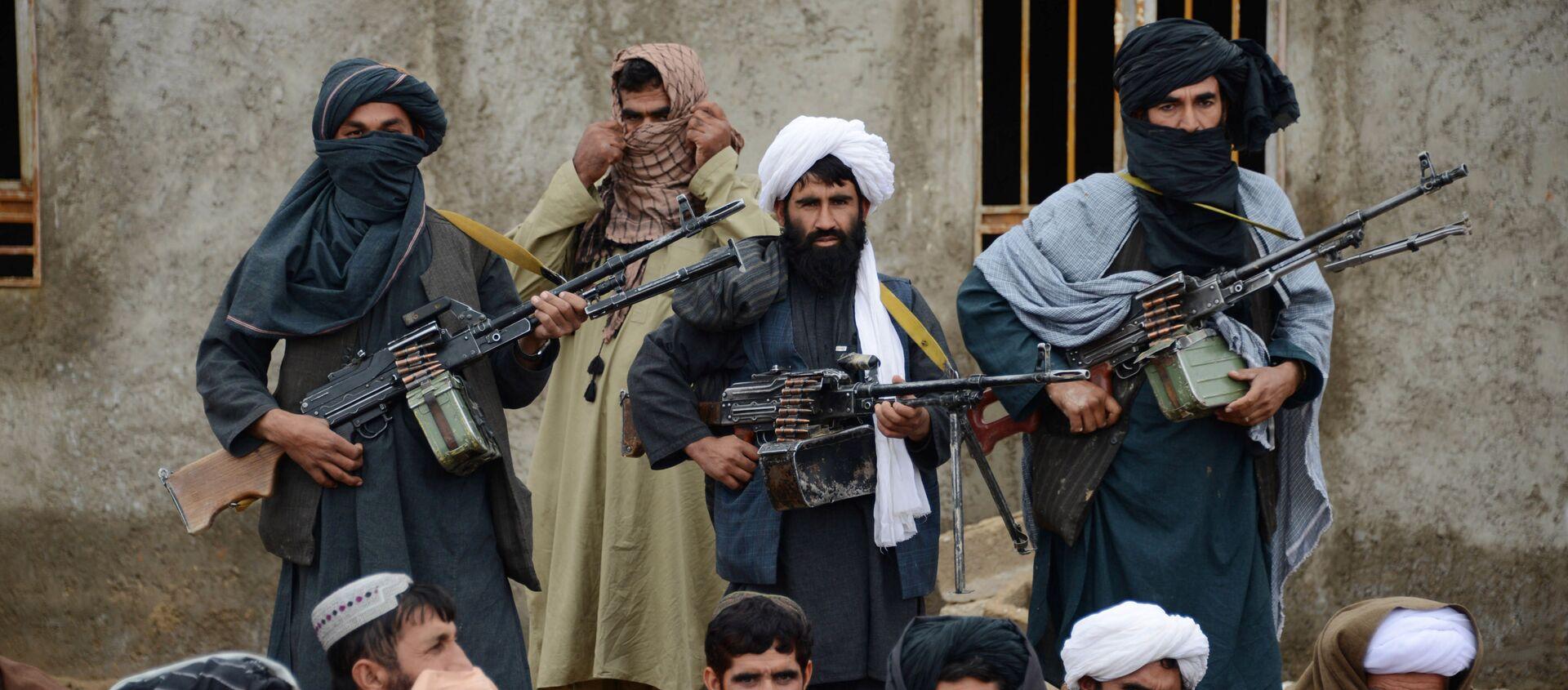 Lực lượng Taliban của Afghanistan.  - Sputnik Việt Nam, 1920, 09.07.2021