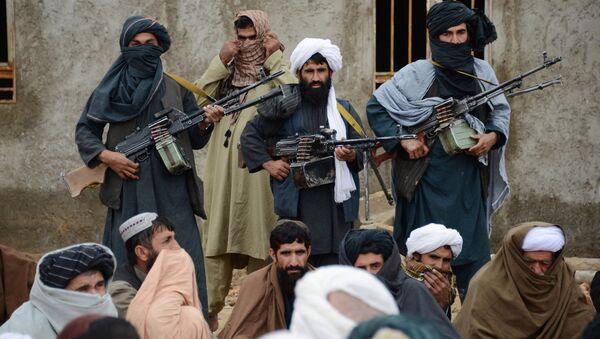 Lực lượng Taliban của Afghanistan.  - Sputnik Việt Nam