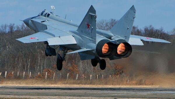 MIG-31 – chiến đấu cơ đánh chặn siêu thanh tầm xa. - Sputnik Việt Nam