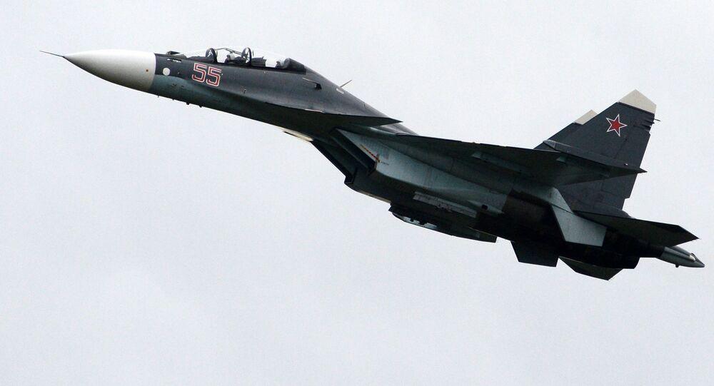 Máy bay chiến đấu đa năng hạng nặng Su-30SM.