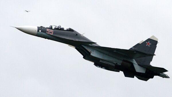 Máy bay chiến đấu đa năng hạng nặng Su-30SM. - Sputnik Việt Nam