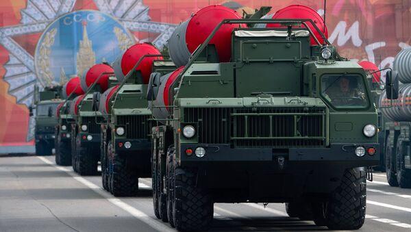 Hệ thống tên lửa phòng không của Nga S-400 - Sputnik Việt Nam