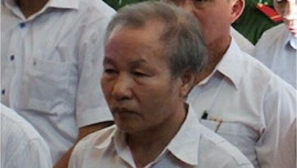 Bị cáo Nguyễn Xuân Trường tại tòa - Sputnik Việt Nam
