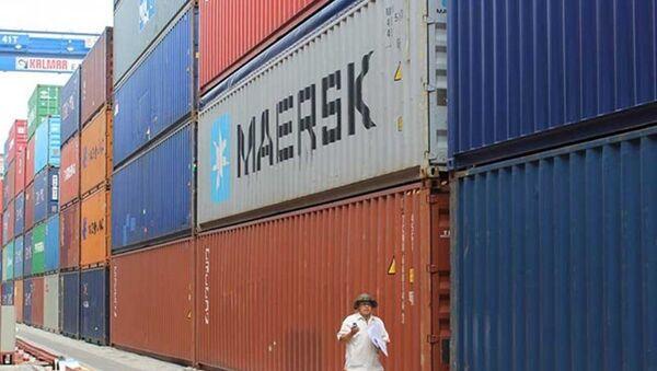 Công an đang làm rõ vụ 213 container tại cảng Cát Lái mất tích bí ẩn. - Sputnik Việt Nam