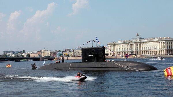 Прибытие в Санкт-Петербург военных кораблей для участия в Дне ВМФ - Sputnik Việt Nam
