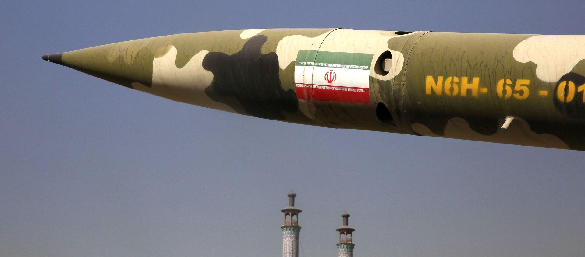 Chương trình tên lửa của nước Iran - Sputnik Việt Nam, 1920, 02.12.2020